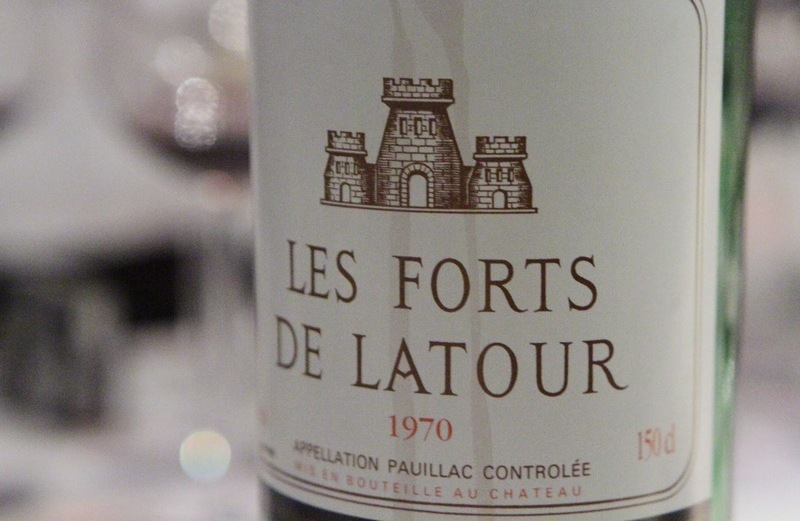 1982 レ・フォール・ド・ラトゥール les forts de latour 当たり年 飲み頃?