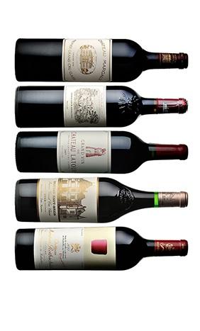 5大シャトーワイン
