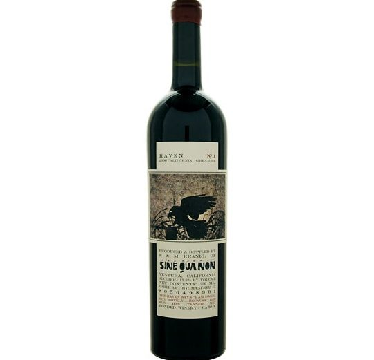 2006 Sine Qua Non Raven Series No 1 Grenache 750ml